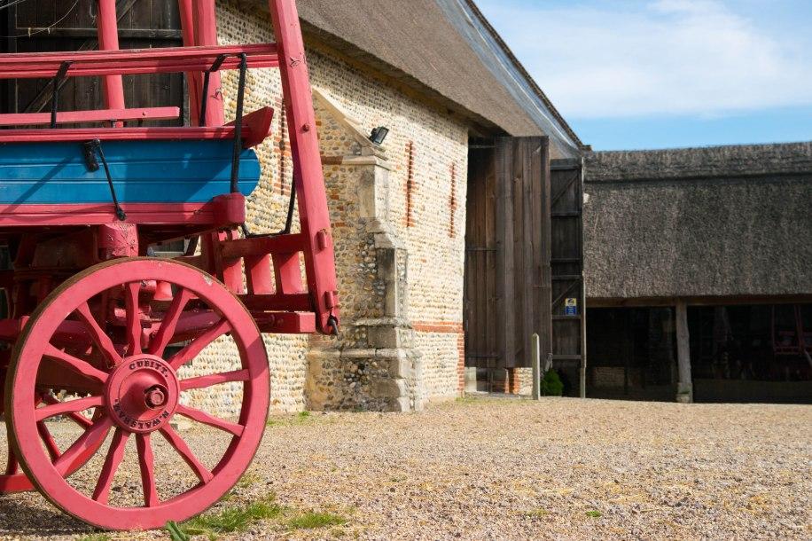 cart Waxham barn